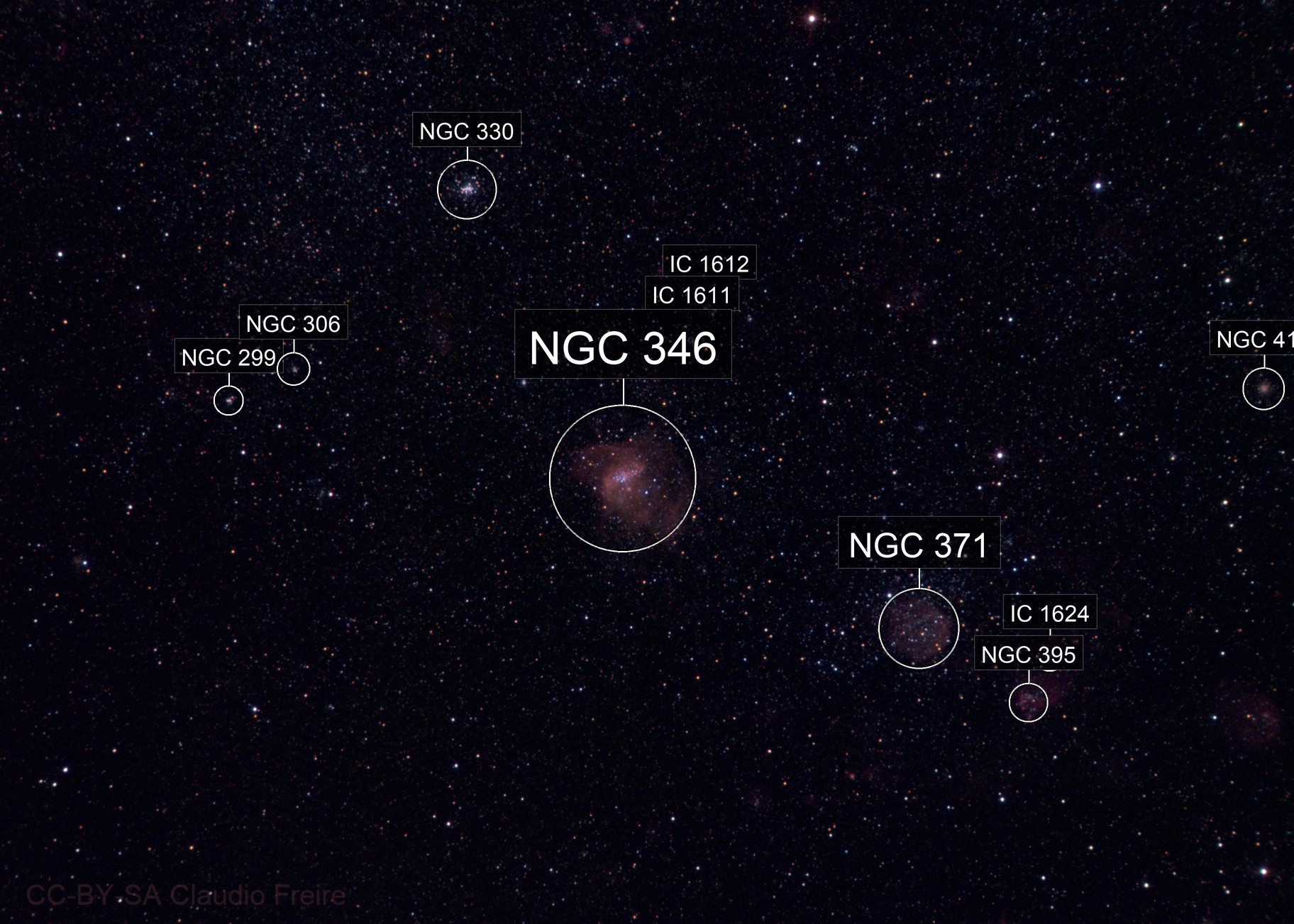 NGC 346 and the SMC in HaRGB