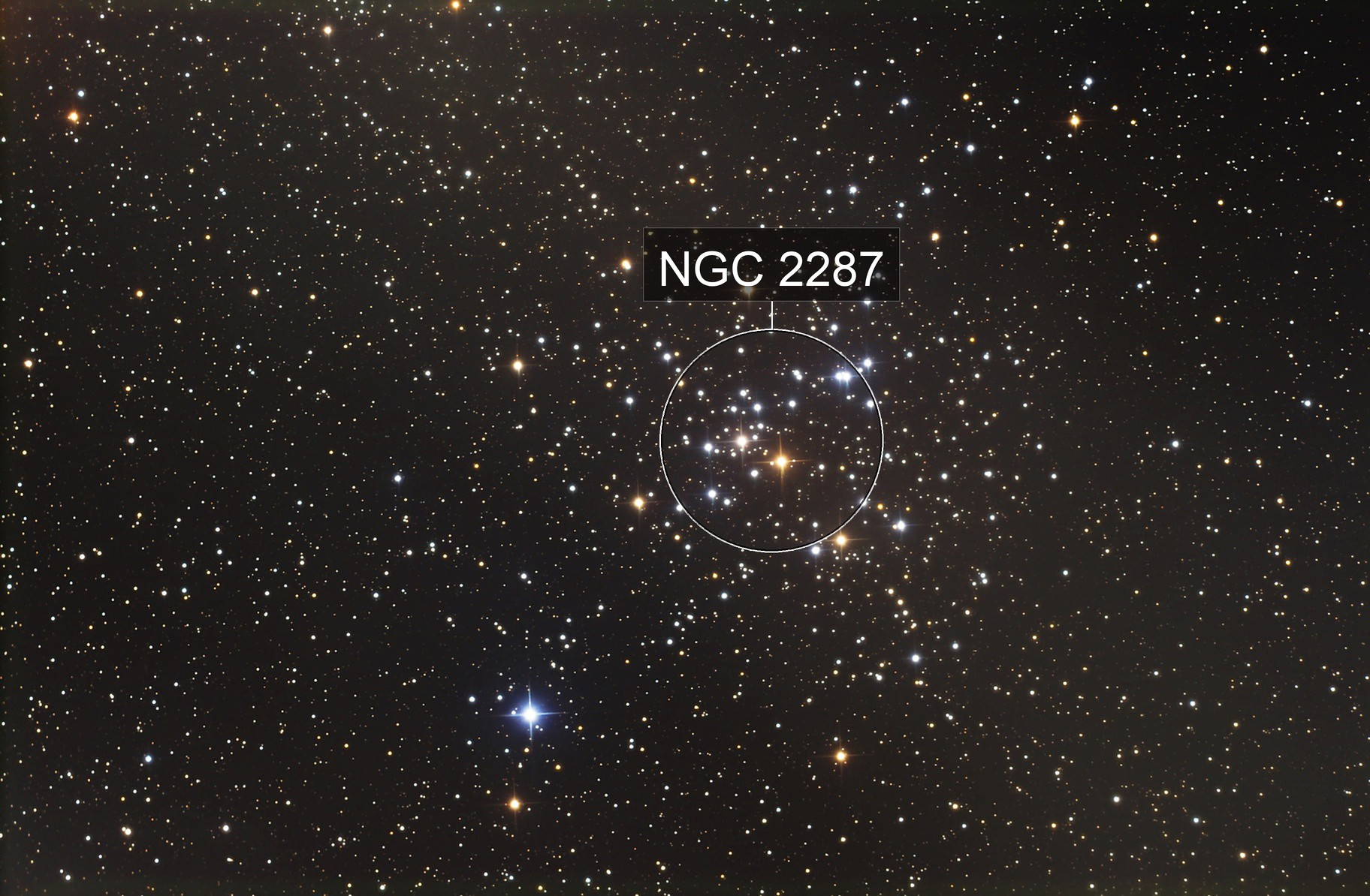 M41 - open cluster