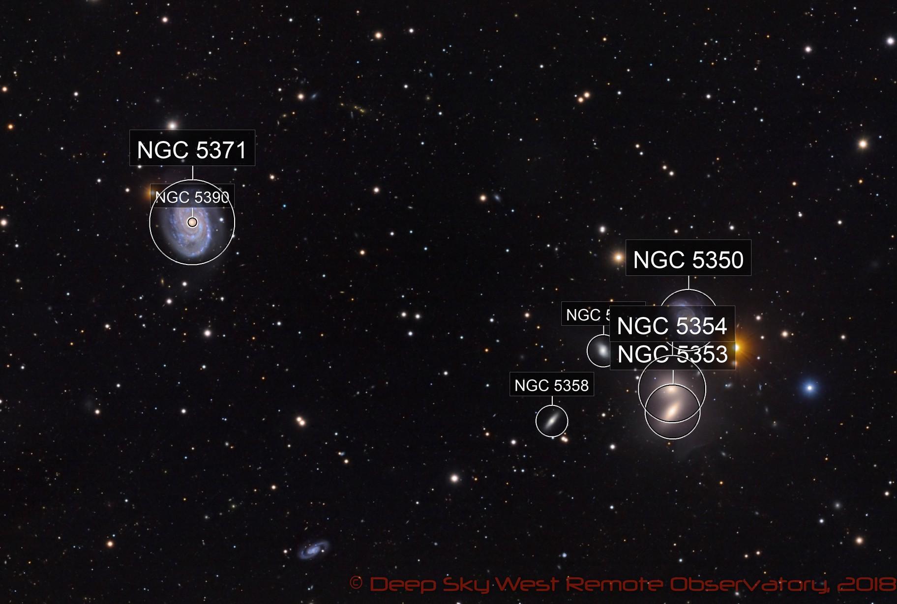 NGC 5371 - Deep Sky West Remote Observatory