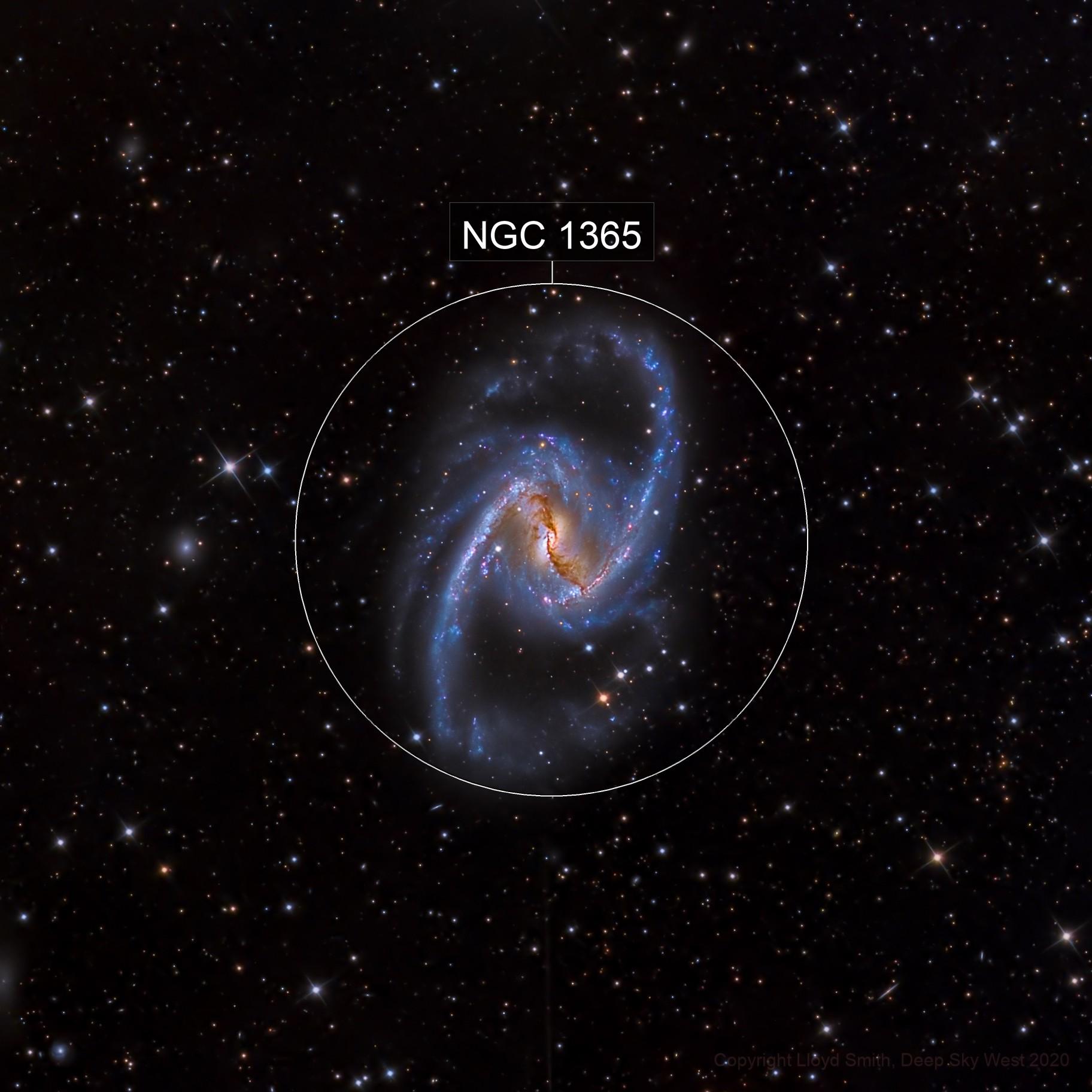 NGC 1365 - Deep Sky West Remote Observatory