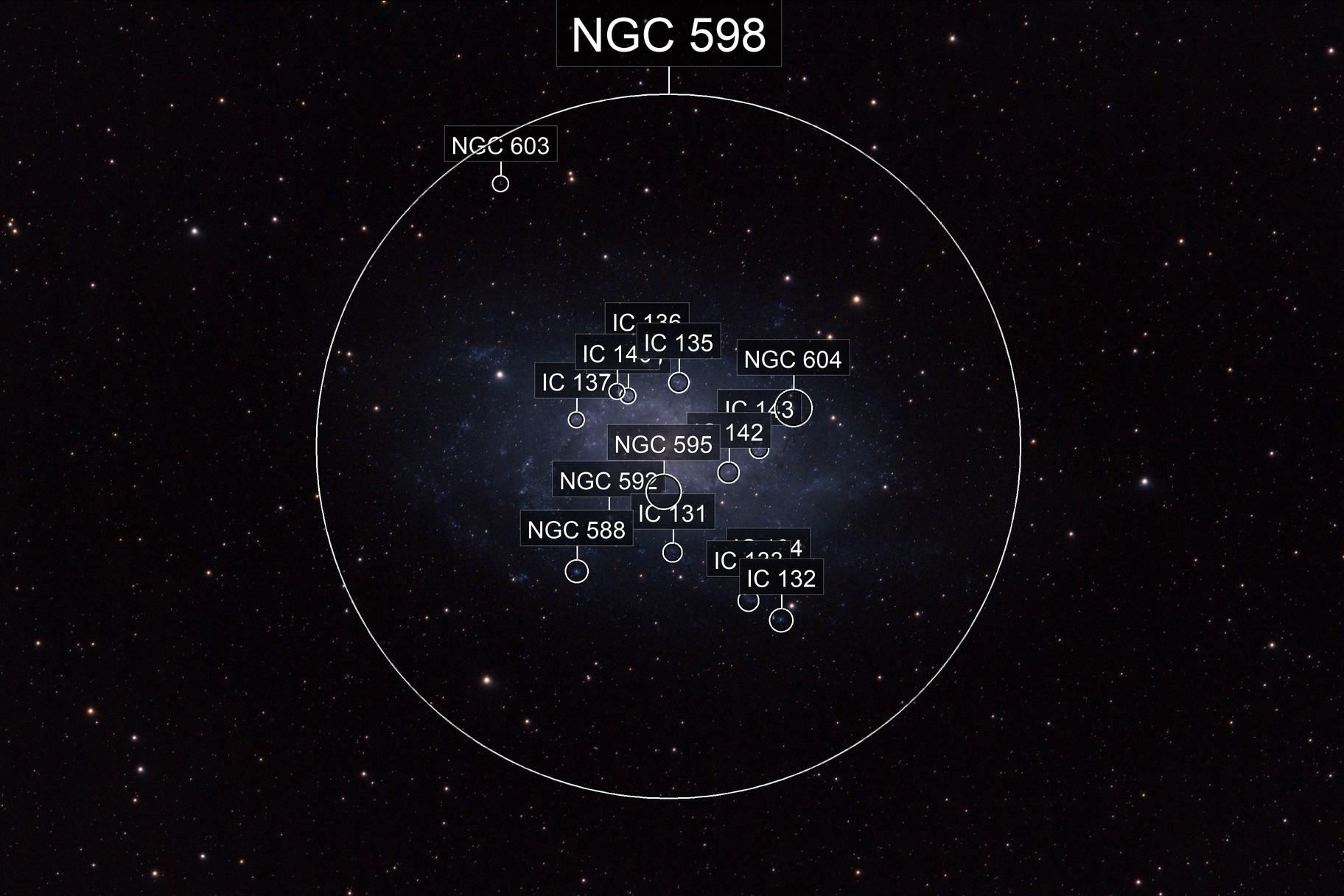 Triangulum Galaxy M33 from Northern Denmark (Nordjylland)