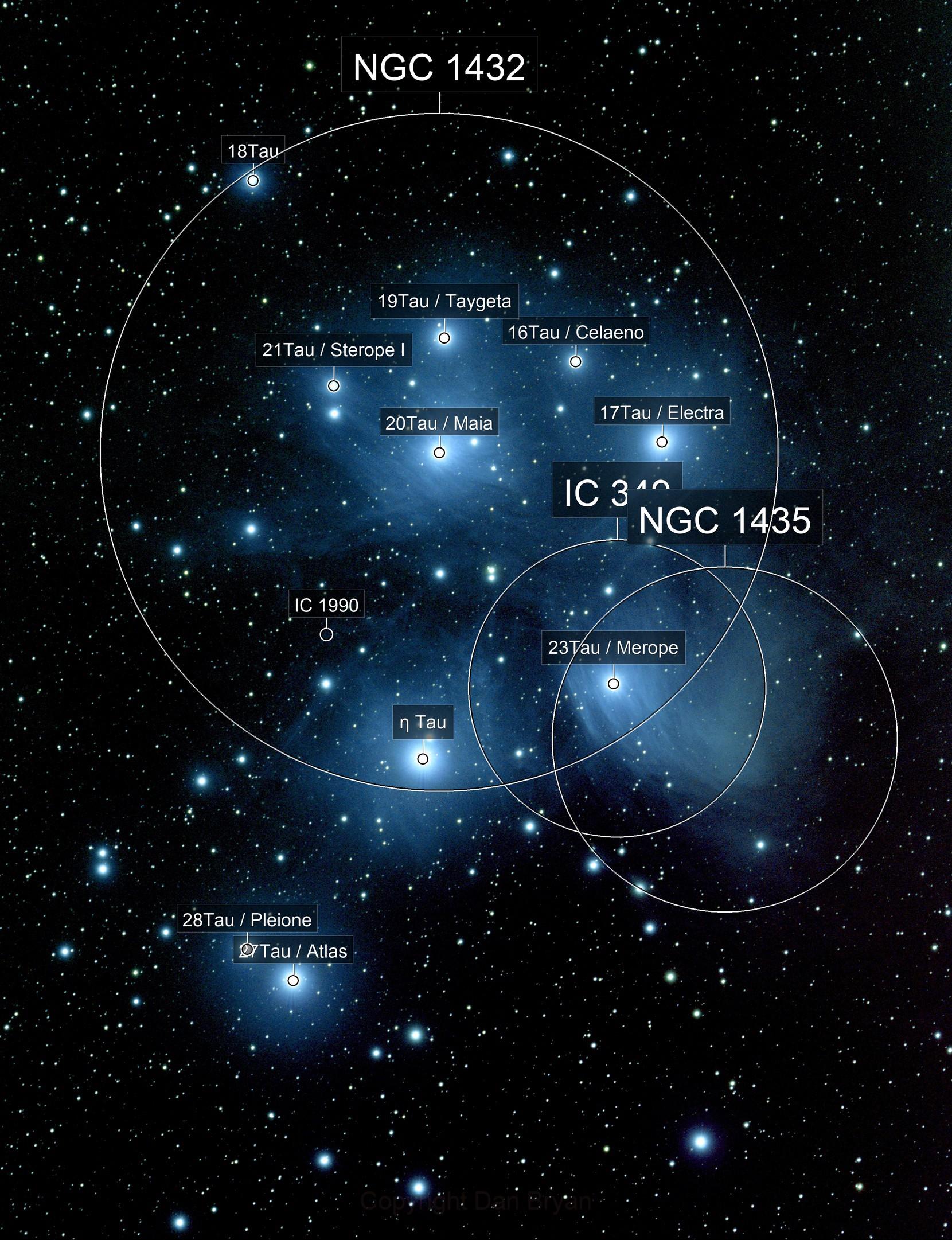 Pleiades,  Messier 45