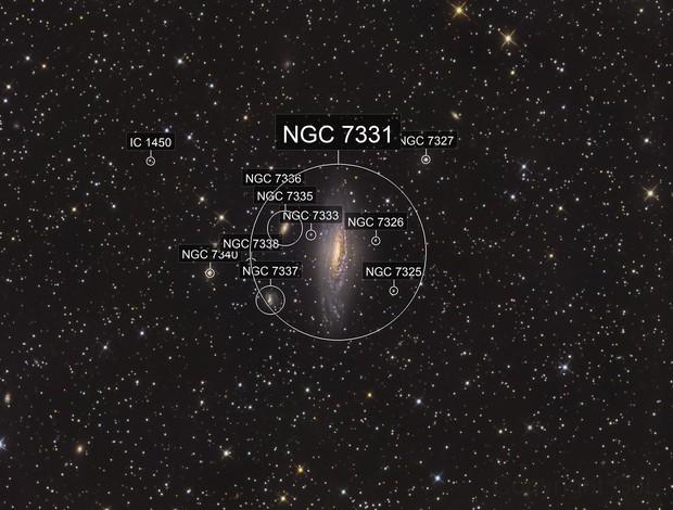 NGC 7331  Peg