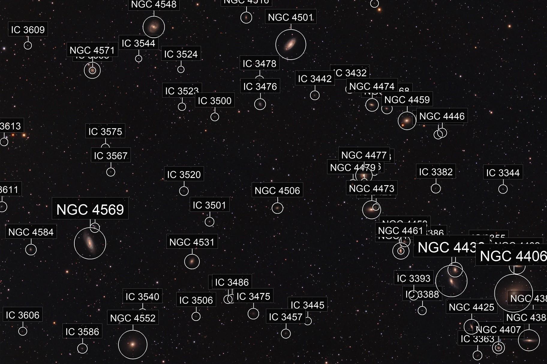 Coma Berenices Galaxies