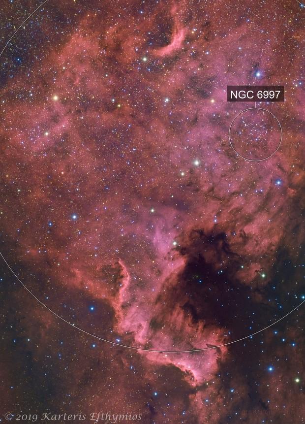 NGC 7000 HaLRGB North America Nebula