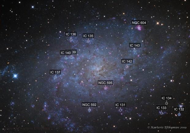 Messier 33 LRGB Triangulum Galaxy