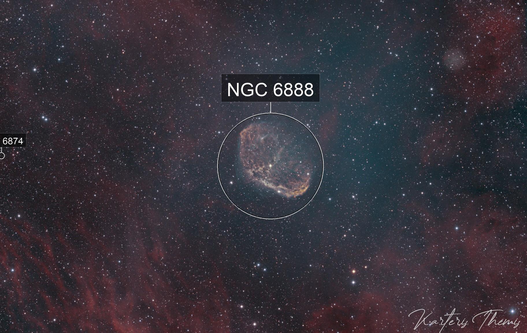 NGC6888 Bicolor Ha-Oiii