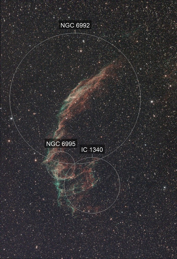 NGC 6992 Test of ASI 294MC Pro