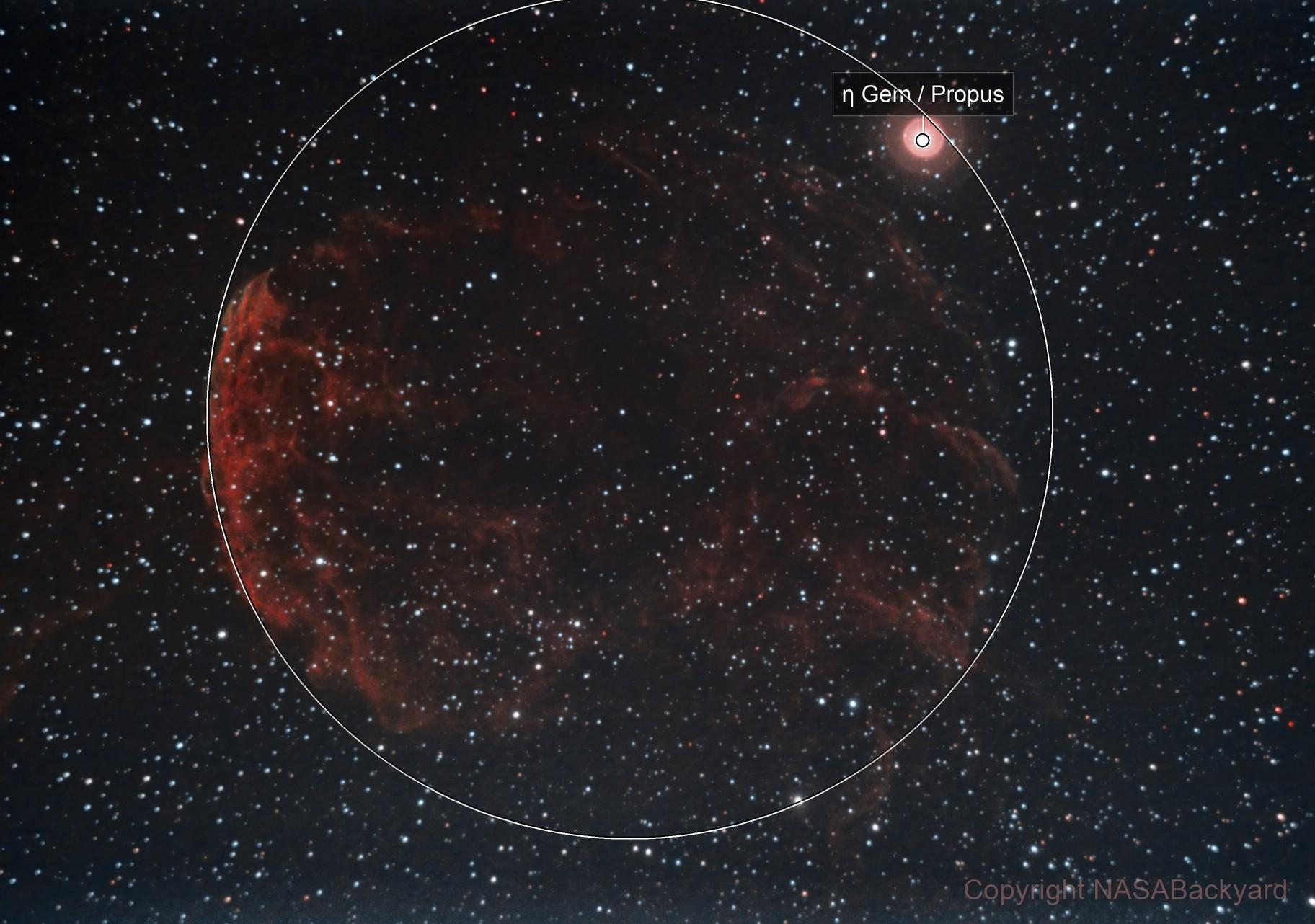 The Jellyfish Nebula (IC 443)