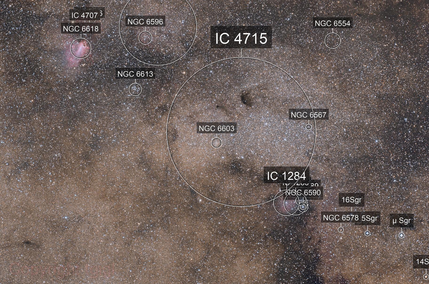 Sagittarius Star Cloud - Messier 24