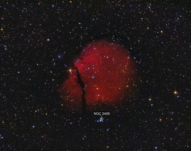 Sh2-302 Emission Nebula in Puppis