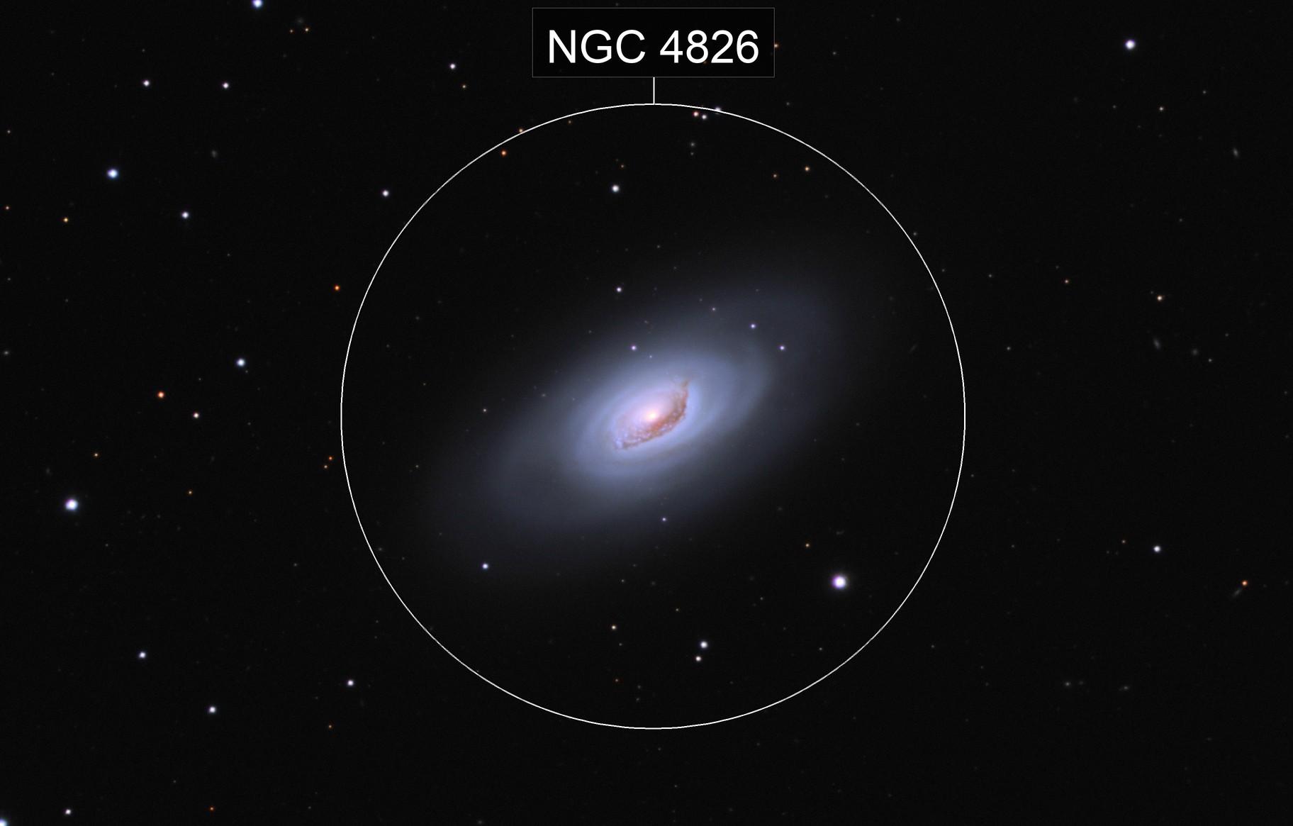Messier 64 - The Black Eye Galaxy