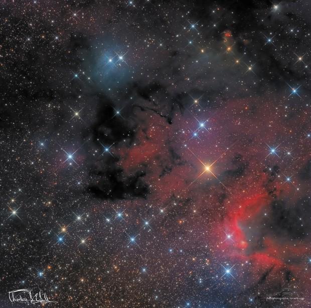 Cave Nebula SH2-155 and VdB155