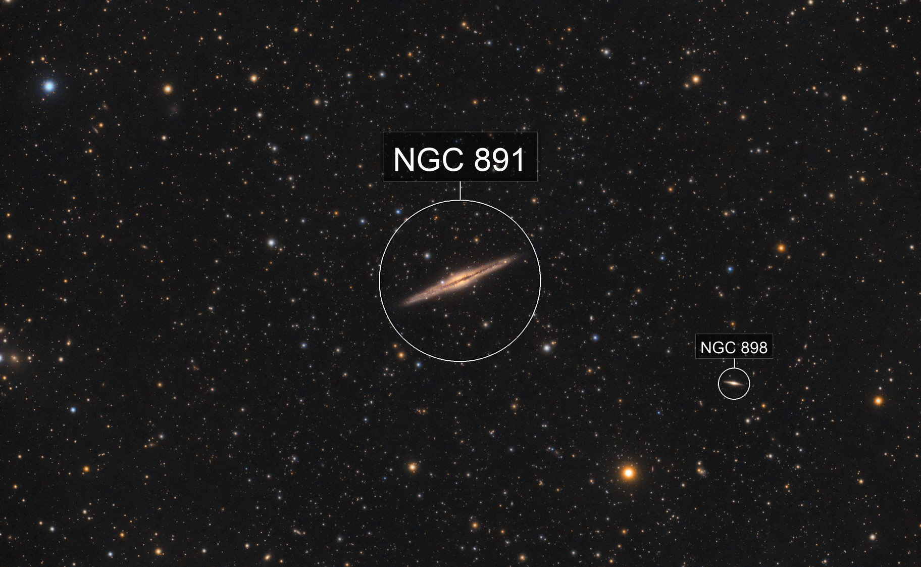 Silver Sliver - NGC 891