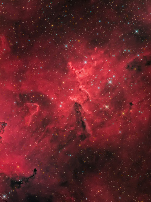 Ic 1805 The Core of Heart Nebula