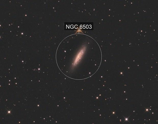 NGC6503 - Dwarf Spiral Galaxy