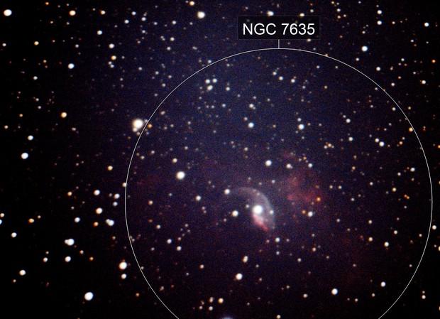 NGC 7635 Bubble nebulae