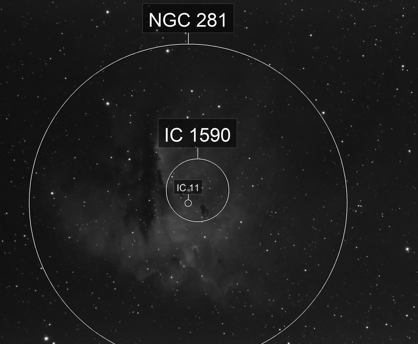 Pacman Nebula Ha
