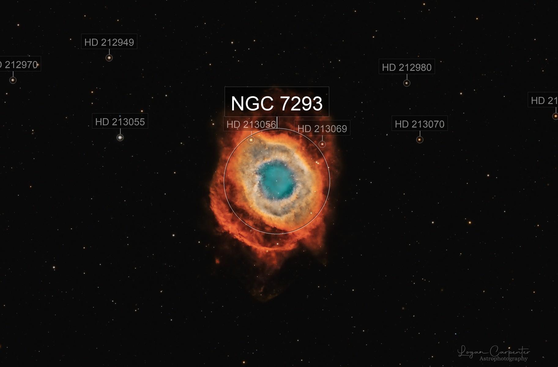 The Helix Nebula ( Eye of Sauron)