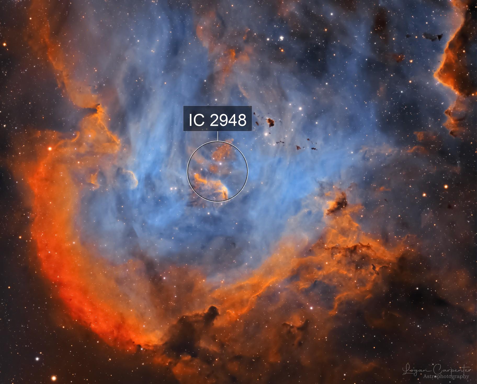 The Running Chicken Nebula   IC2944