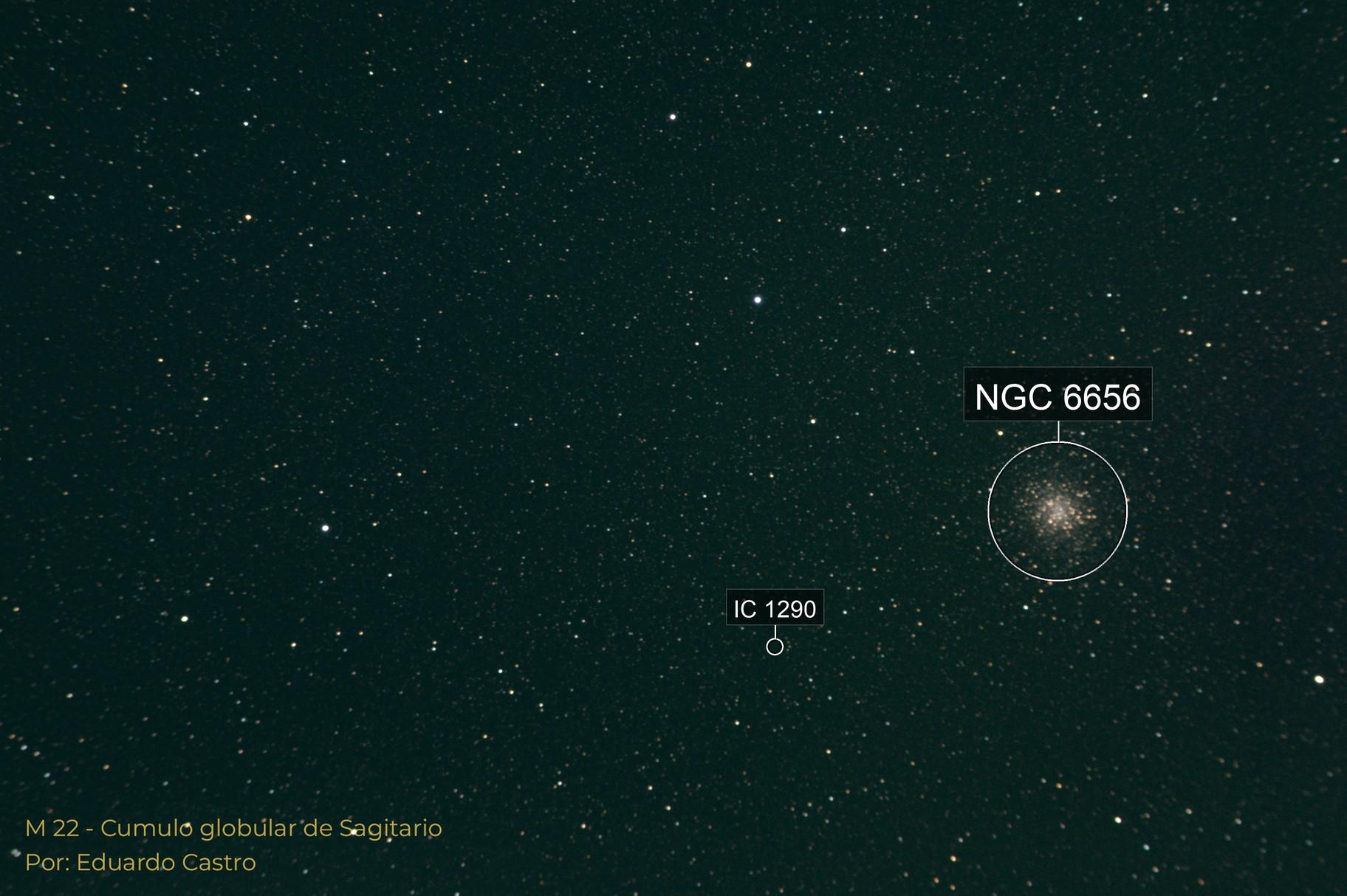 M22 - Sagittarius globular cluster