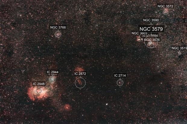 Running Chicken Nebula - IC 2944