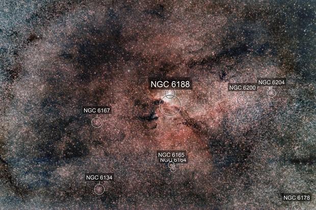 The Rim Nebula - NGC6188