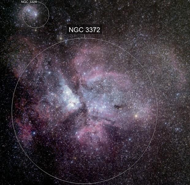 Eta Carinae Nebula - NGC 3372