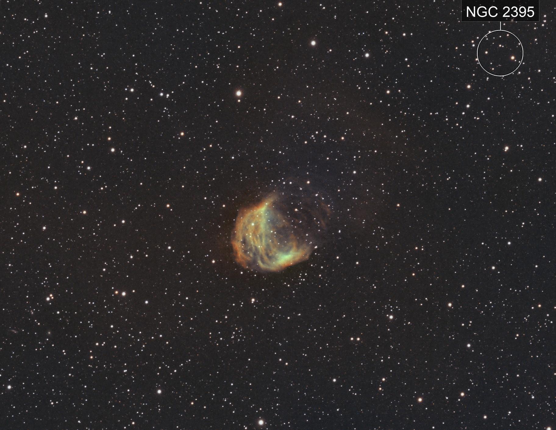Sh2-274 Medusa Nebula
