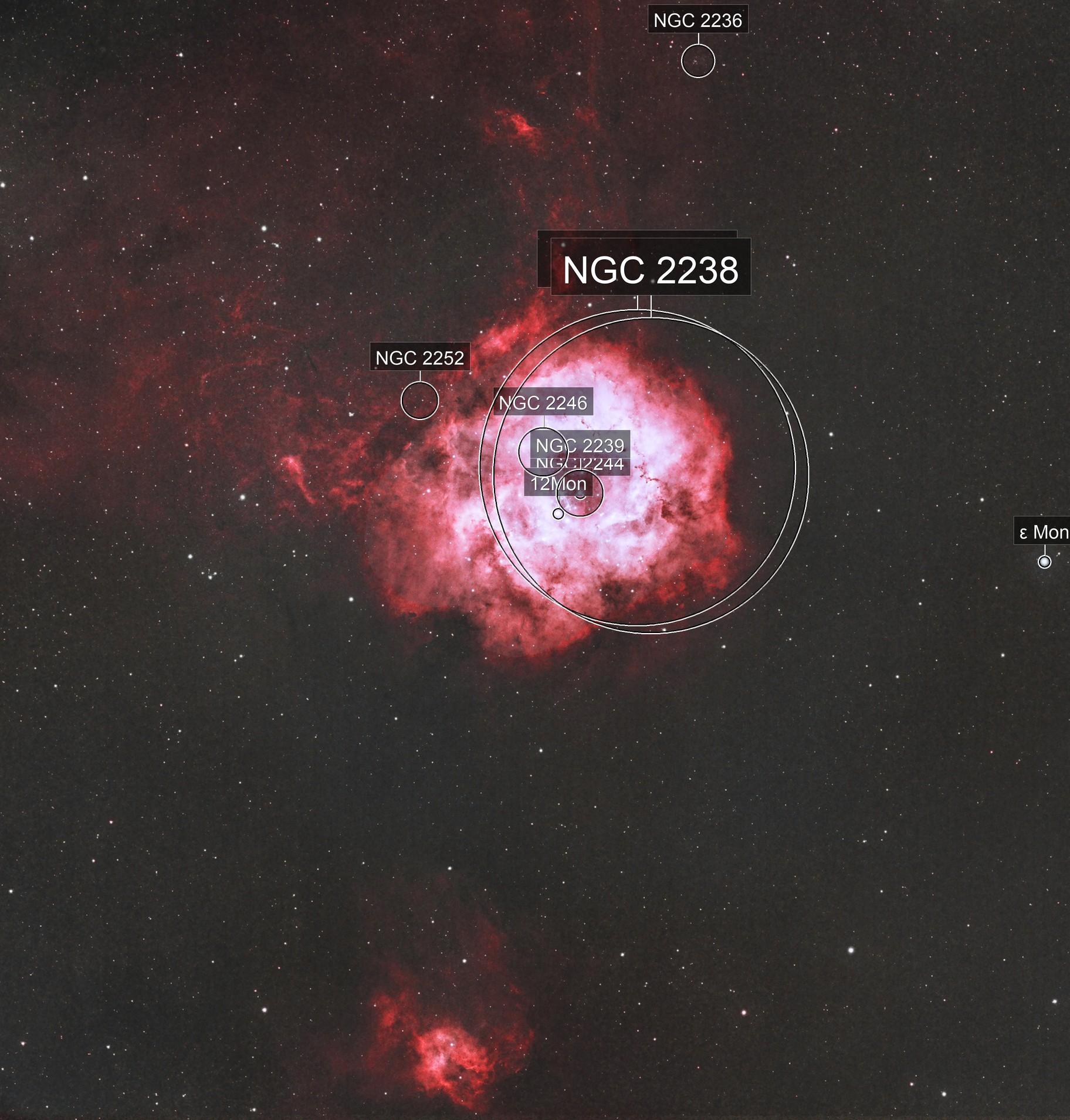 Rosette Nebula with Sh2-280