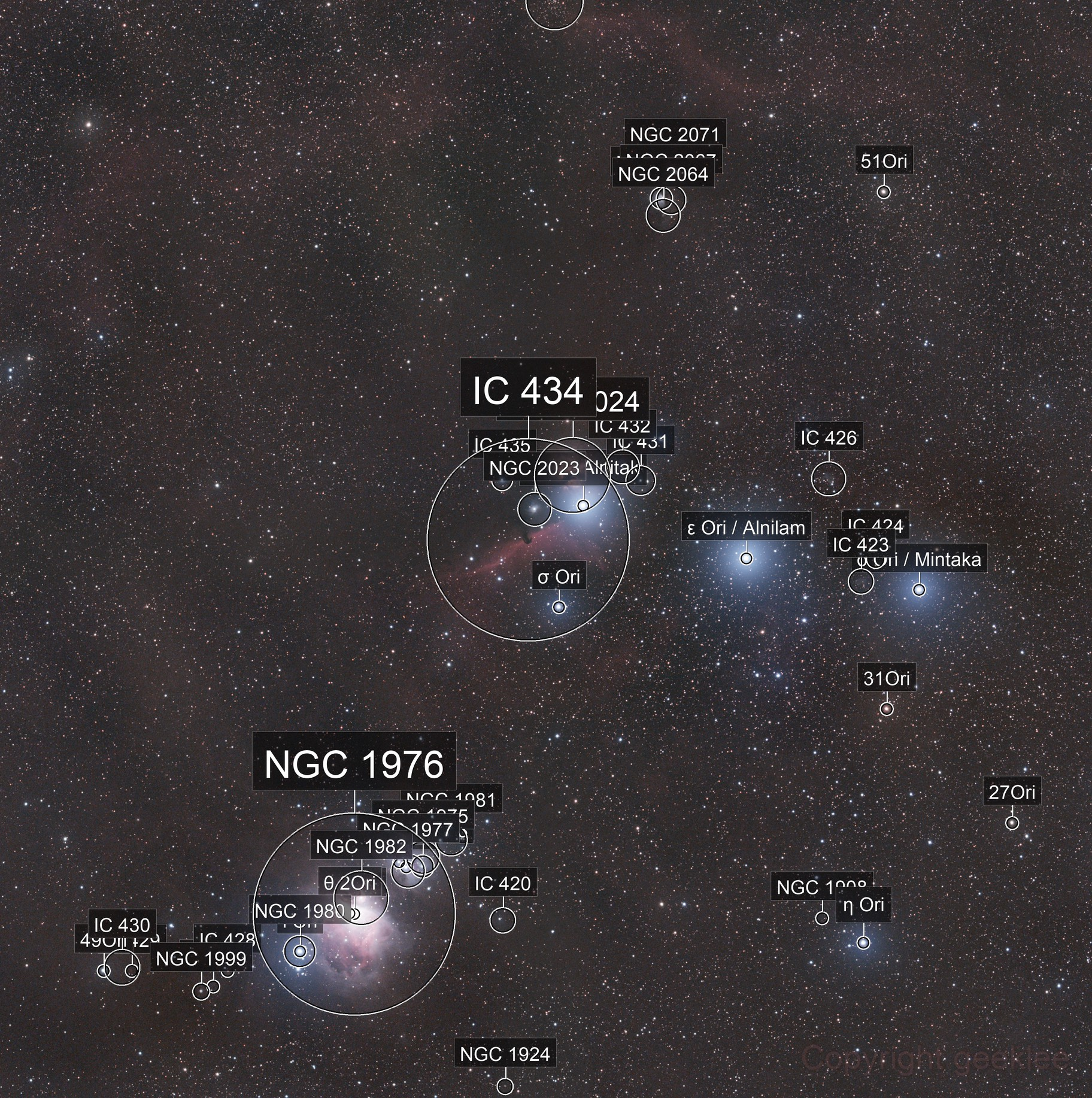 A testament to the Samyang - Cloudy Orion Mosaic