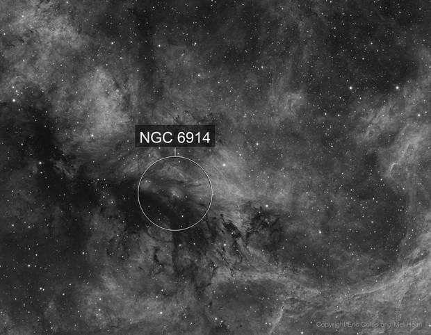 NGC 6914 H-alpha