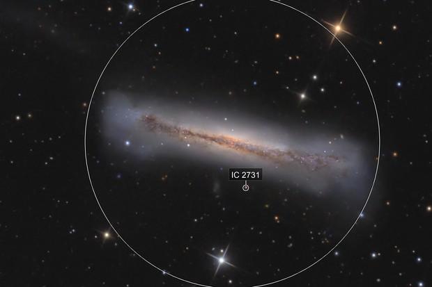 NGC3628 detail