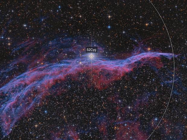 NGC6960 the Witch's Broom Nebula