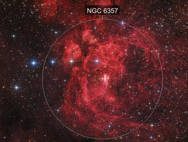 NGC6357 Lobster nebula