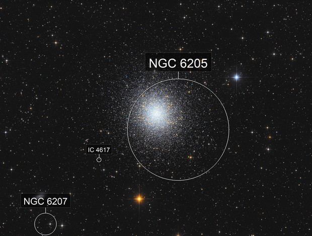 M13 the great Hercules Cluster