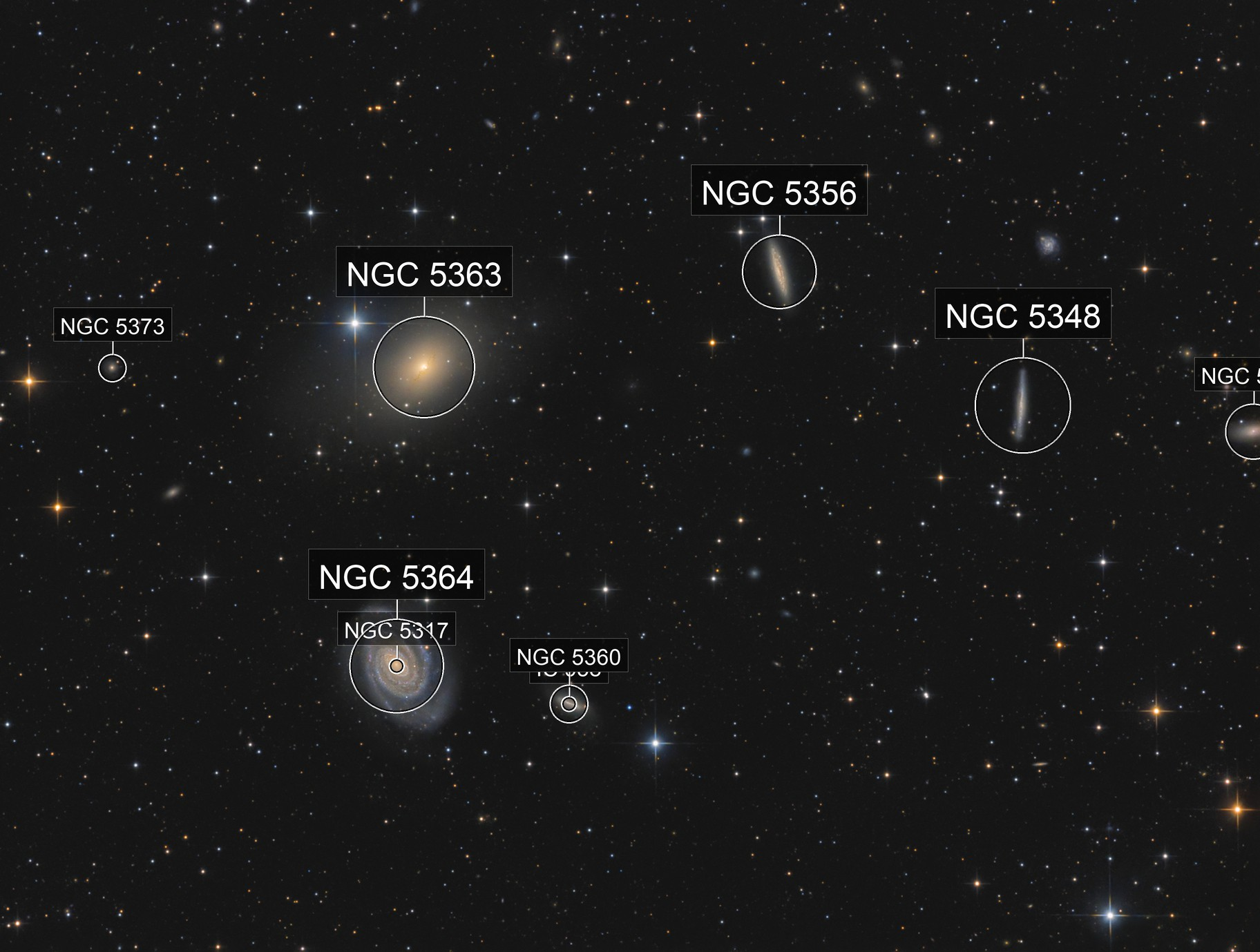 NGC5363/5364 group