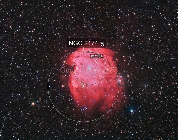 Ngc2174 - Monkey Head Nebula