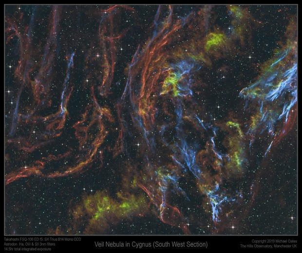 Veil Nebula (South West section)