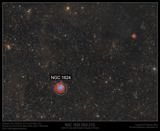 NGC 1624 (Sh2-212)