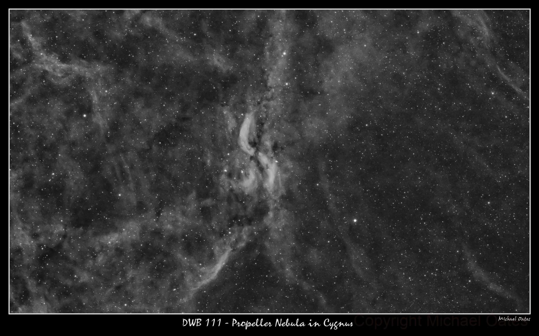 DWB 111 Propeller Nebula in Ha