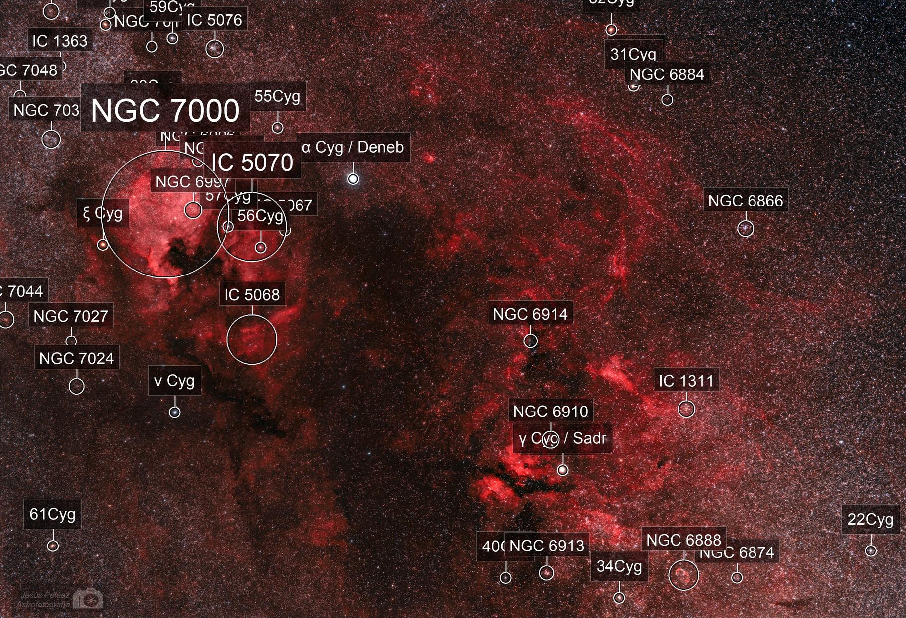 The Northern Coalsack nebula