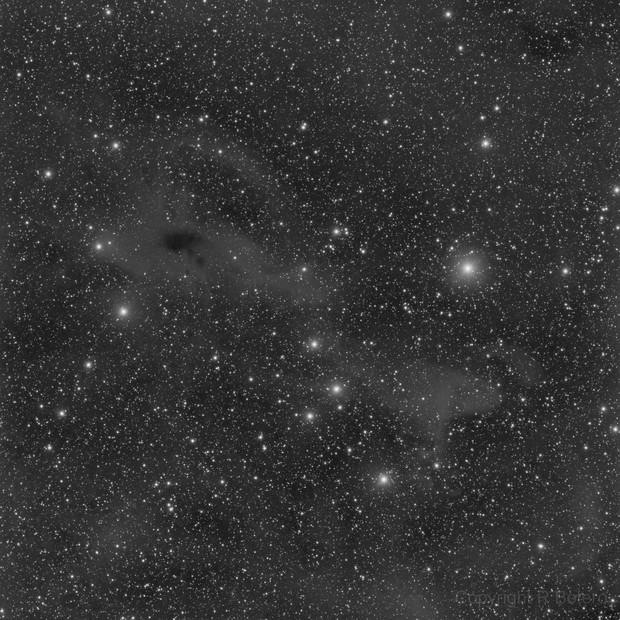 LBN 575 and 573 in Cepheus - LRGB