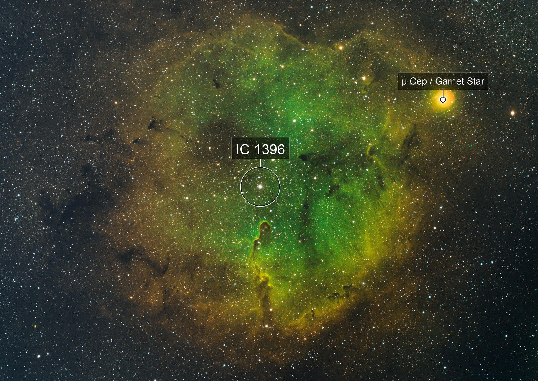 IC 1396 Elephant Trunk