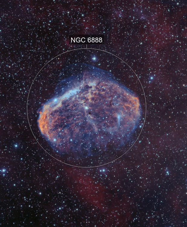 NGC6888 Bicolor