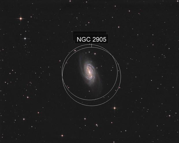NGC2903  T 250 f/4  /  ATIK ONE  /  AZEQ6