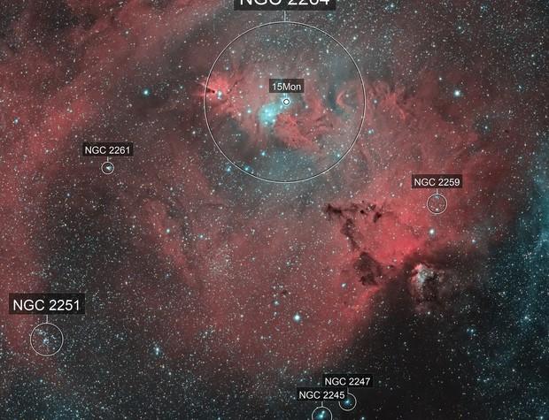 NGC2264  EF200 f/2.8  /  ATIK ONE  /  AZEQ5