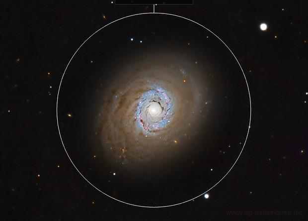 Cat's Eye Galaxy (LRGB, Messier 94)