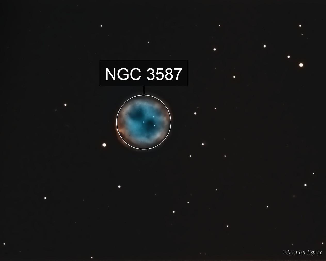 M97 - OWL NEBULA (HaOIII)