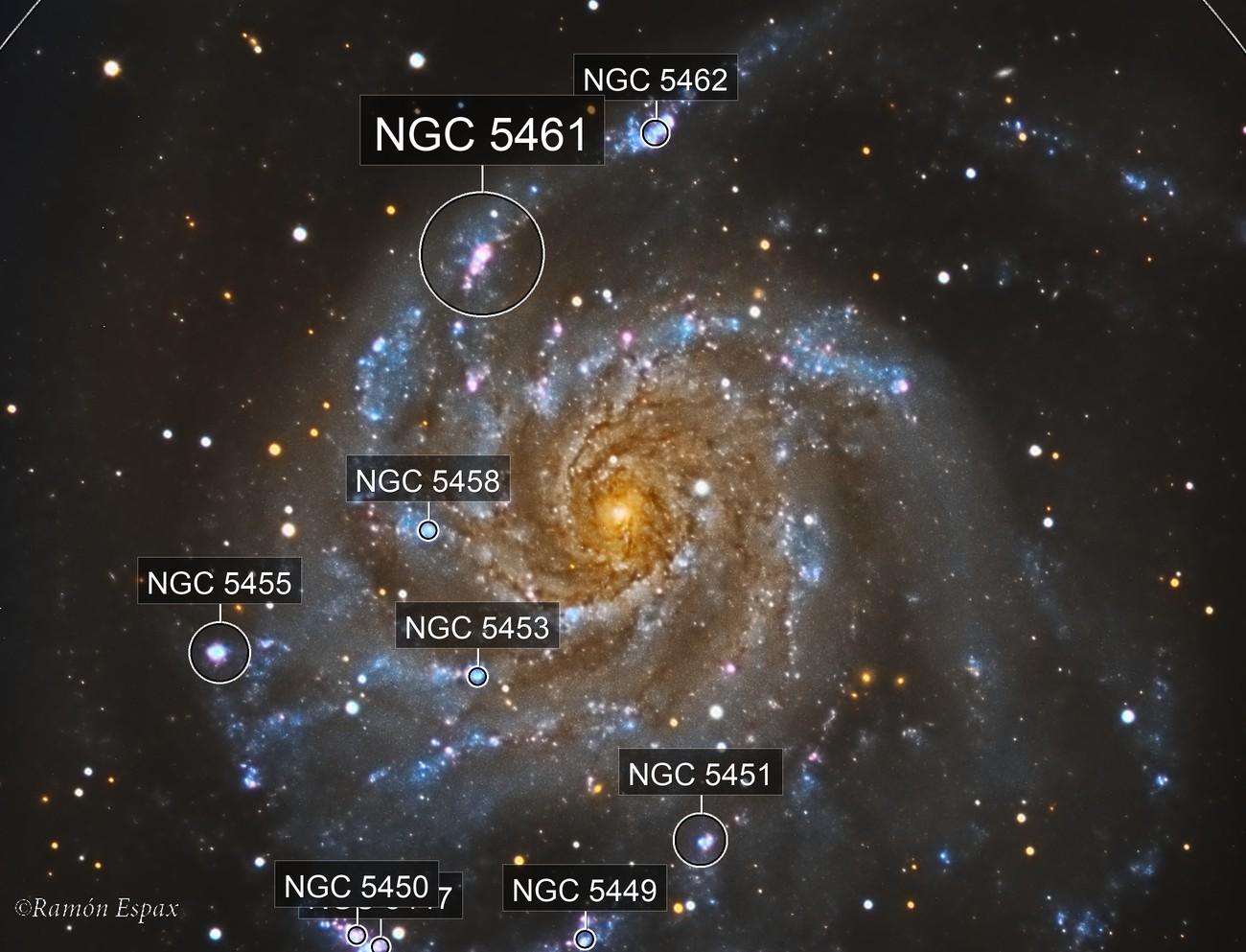 M101 - LRGB